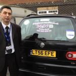 Taxi at London Gatwick