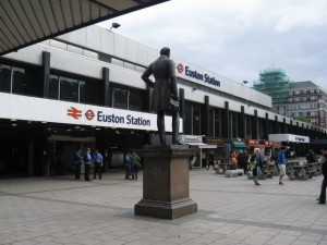 Gatwick Taxi to Euston Station