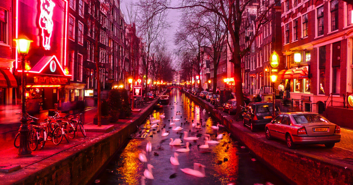18. Red Light District – Amsterdam, Netherlands